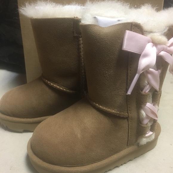 008805b0b84 Toddler Girls UGG Sz 6 Pala Chestnut boots NEW NWT